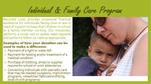 Indiv & family care program